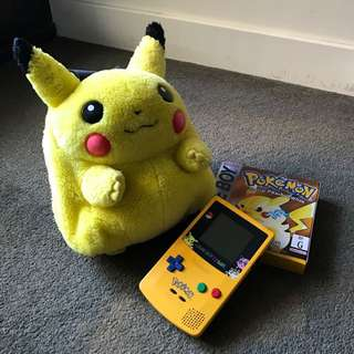 Limited Edition Gameboy Color & Pokemon Yellow