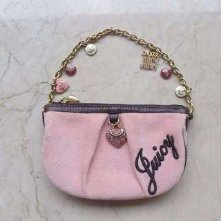 Juicy Couture party clutch bag