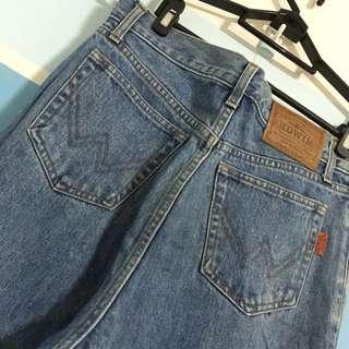 EDWIN 素色牛仔褲