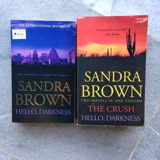 Hello, Darkness & The Crush by Sandra Brown