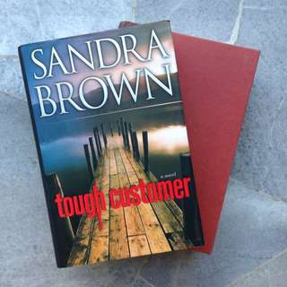 Tough Customer, Fat Tuesday By Sandra Brown