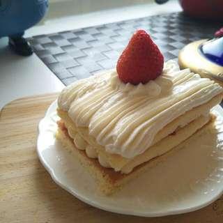 偶像劇之草莓卡式達蛋糕