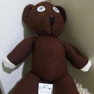 Mr Bean Brown Teddy Bear