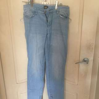 Lee Jeans With zip Up Ankles