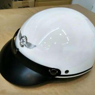 全新安全帽 白色