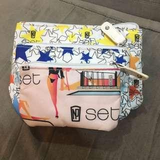3 Kosmetic Bag Nepoleon (merek Australia)