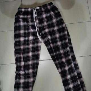 Checkered Sleep Pants