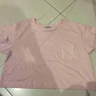 Crop Tshirt Pull N Bear