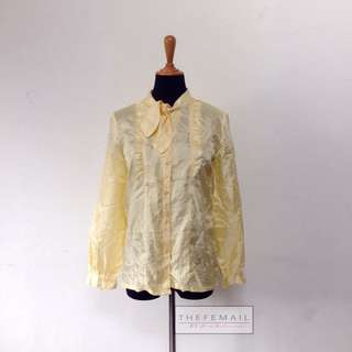 Yellow Vintage Shining Top