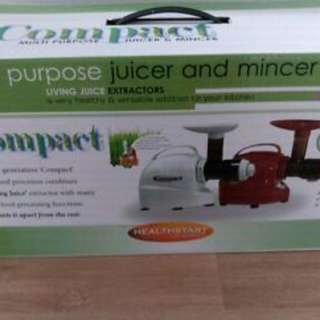COMPACT Multi-function Juicer/ Mincer