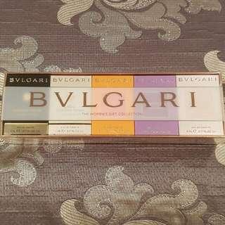 BVLGARI Mini Perfume Set (including Jasmin Noir, Mon Jasmin Noir, Omnia Indian Garnet, Omnia Amethyste, Omnia Crystalline)