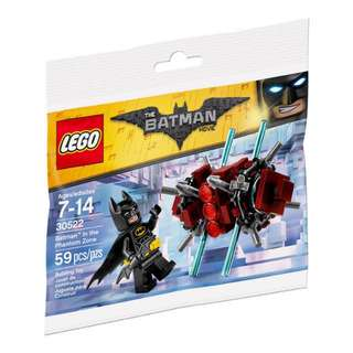 Lego The Batman Movie 30522 Batman In The Phantom Zone