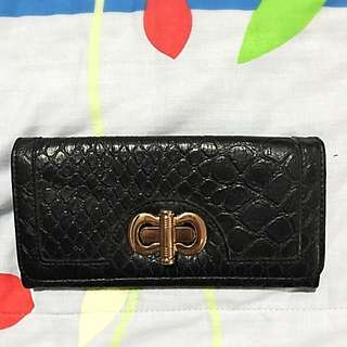 Paprika Long Wallet (Black)