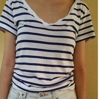 ZARA Basic Stripes Shirt