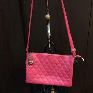 Pink Bag Sling Bag #bag #slingbag