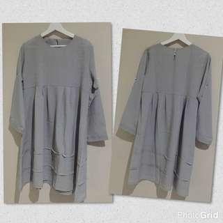 Tunik Soft Grey