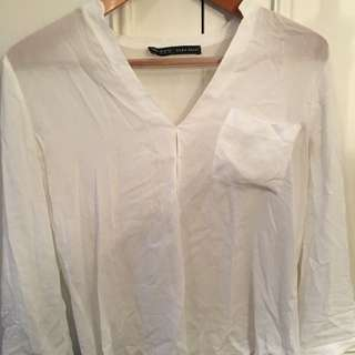 Zara Loose Basic Shirt