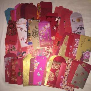 50 Assorted Ang Bao Red Packets