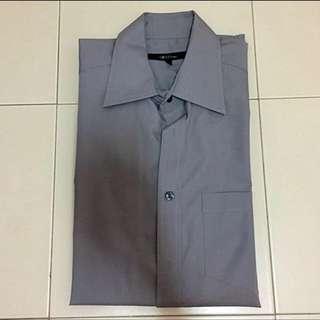 G2000 Grey Long Sleeves Shirt / Tee / Formal Wear - Size 15