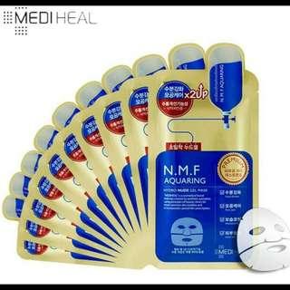 韓國MEDIHEAL  N.M.F針劑水庫凝膠面膜金色升級版