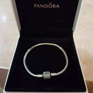 Moments Silver Bracelet with Clear Cubic Zirconia