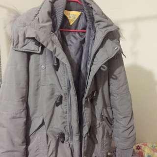 轉賣Sly 2016 n3b 短版灰2號 限定色大衣外套 超溫暖超美