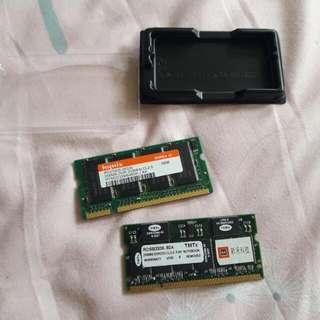 ddr1 256mb×2 筆電記憶體