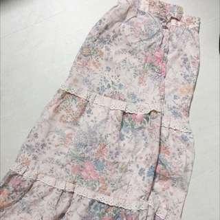 超美的碎花裙