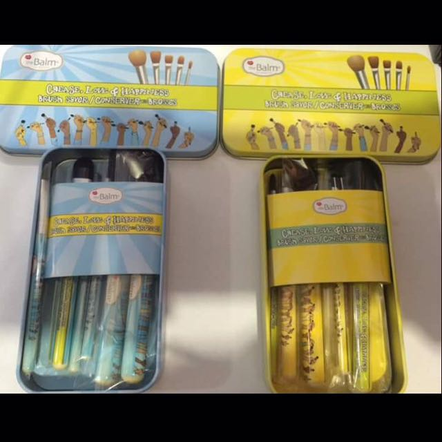 7pcs Brush With Can