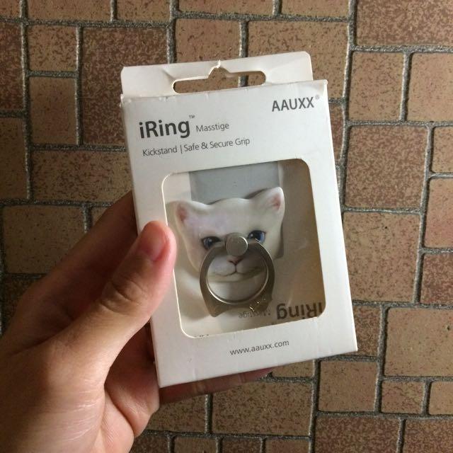 貓咪手機指環扣