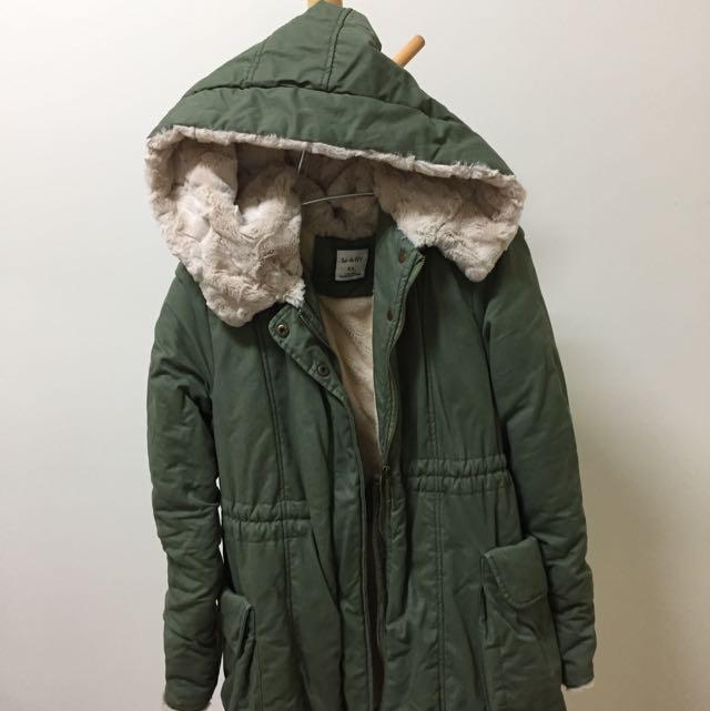 軍裝大衣/軍綠外套