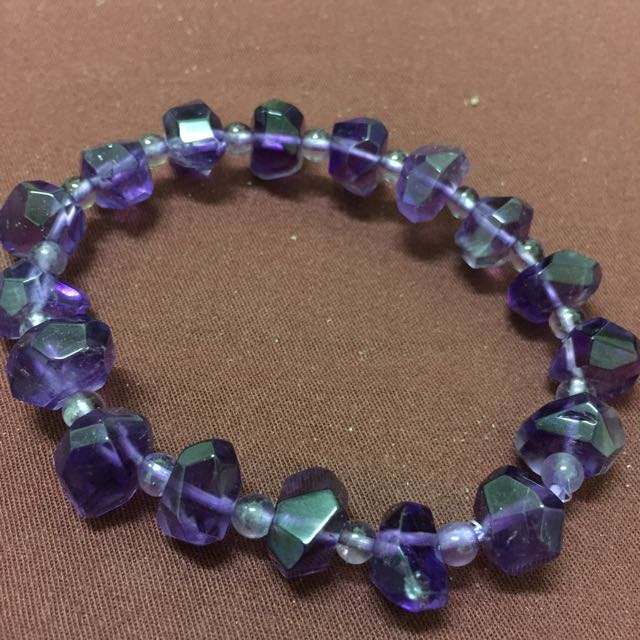 百貨購入 高等級紫水晶