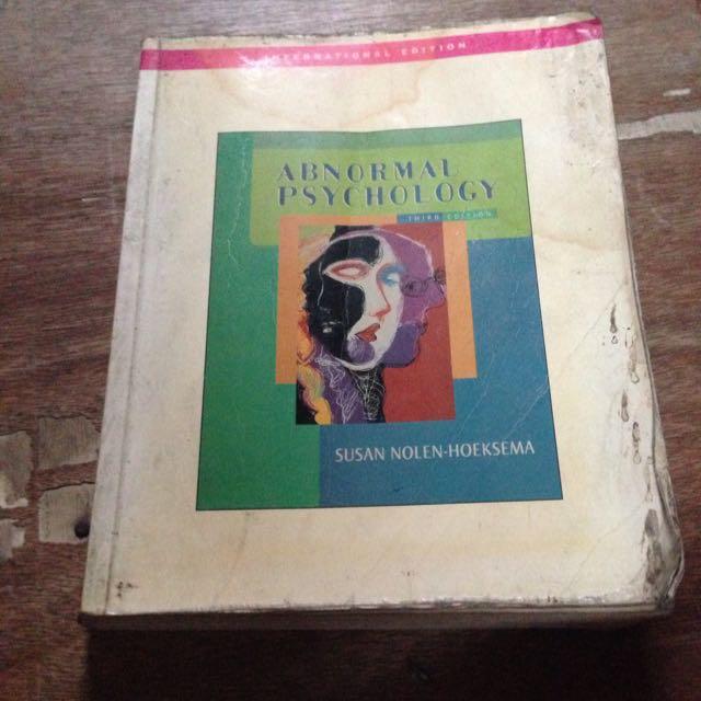 Abnormal Psychology By Hoeksema