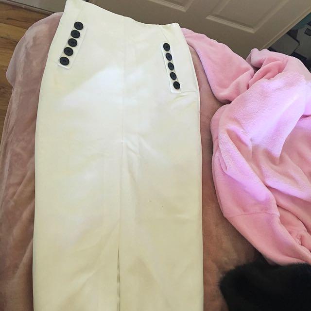 Bardot Skirt High waisted Midi Bodycon