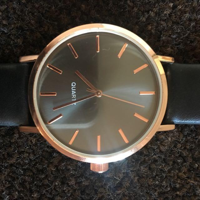 Black Quartz Watch