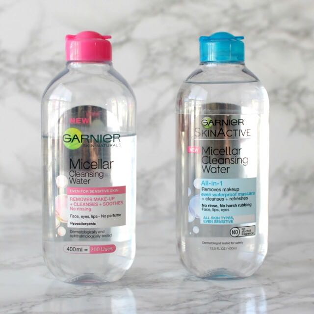 SkinActive Micellar Cleansing Water  by garnier #20
