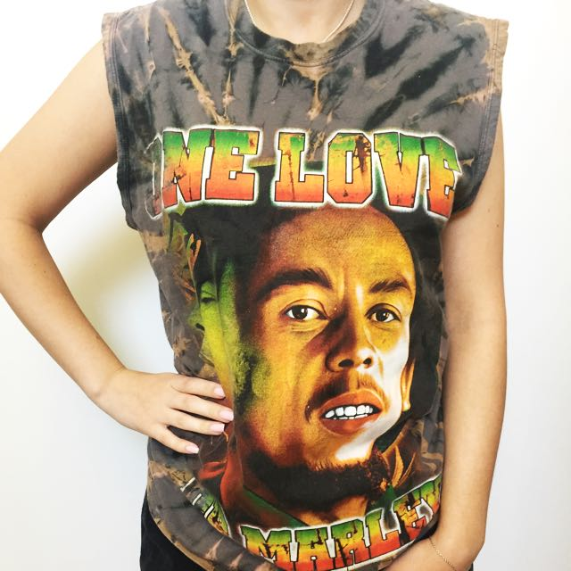 "⚡Bob Marley ""One Love"" Singlet ⚡"