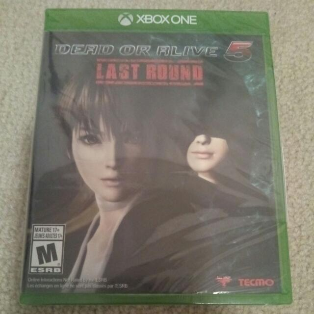 Brand New Sealed Dead Or Alive 5 Last Round Xbox One Xbone