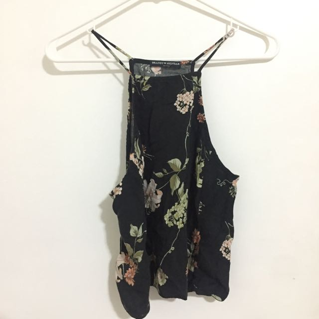 Brandy Melville Floral Top