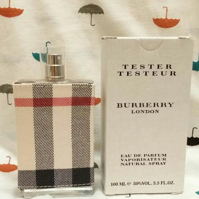 Burberry london women 100ml edp (tester no cap), Women's Fashion, Jewellery on Carousell