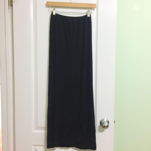 Costa Blanca Cotton Maxi Skirt - XS