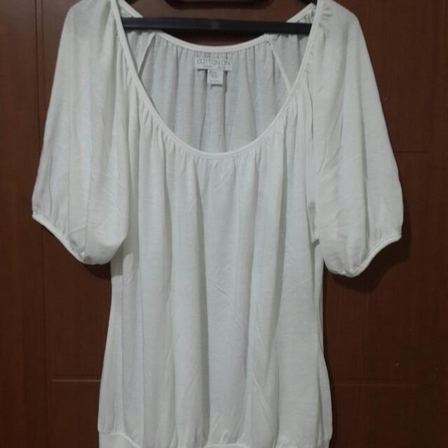 Cotton On Putih