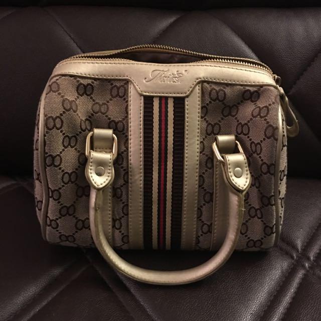 Cute Beige Small Bag