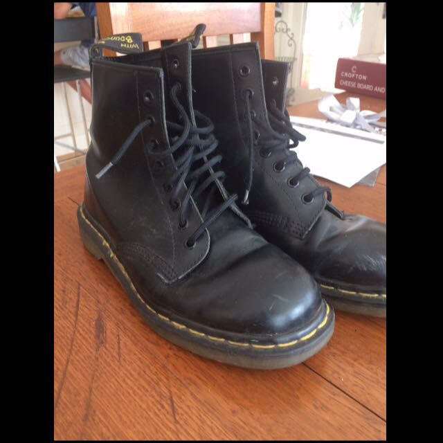 Doc Martens Black High