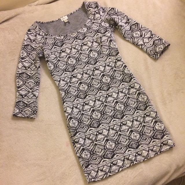 Dynamite Bodycon Print Dress