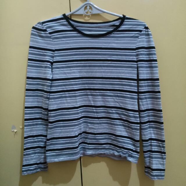 Repriced!! Faded Glory Stripe Long Sleeve Shirt