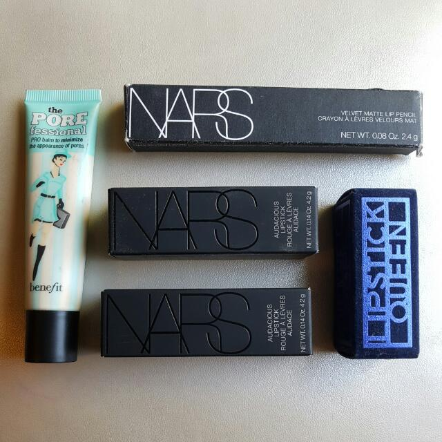 Genuine Branded Items Feat. NARS, Benefit & Lipstick Queen