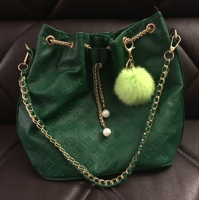 Green LV Bag