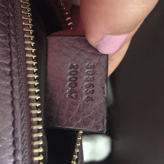 Gucci Soho Makeup Bag