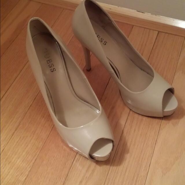Guess Open Toe High Heels